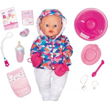 Zapf Creation Babypuppe Baby born Soft Touch Girl Wintertime für 42,94€ inkl. VS