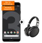 Google Pixel 3 + Sennheiser HD4.50 + o2 Free M (20GB, Allnet, SMS) 34,99€ mtl.
