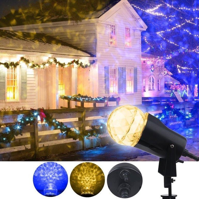 Yinuo Light LED-Projektionslampe für 6,40€ inkl. Versand (Prime)