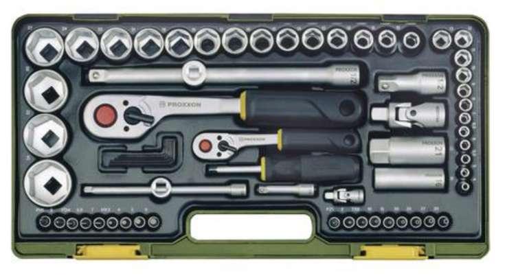 Proxxon Industrial Steckschlüsselsatz metrisch (65-teilig) für 87,34€ inkl. Versand (statt 97€)
