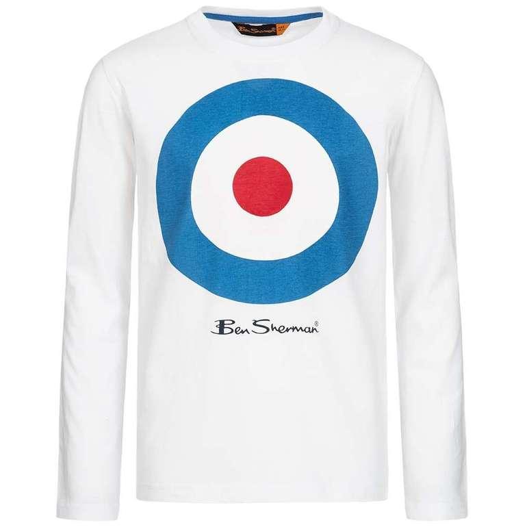 Ben Sherman Kinder Longsleeve Shirt für 8,39€ inkl. VSK (statt 15€)