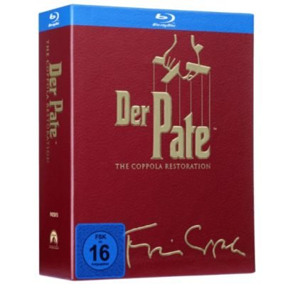 Der Pate - The Coppola Restoration (Blu-ray) ab 12€ (statt 22€) - Masterpass!