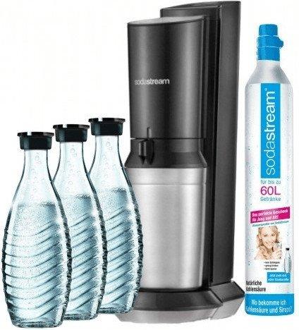Endet heute! SodaStream Crystal 2.0 Wassersprudler mit 3 Karaffen für 95,93€ inkl. VSK