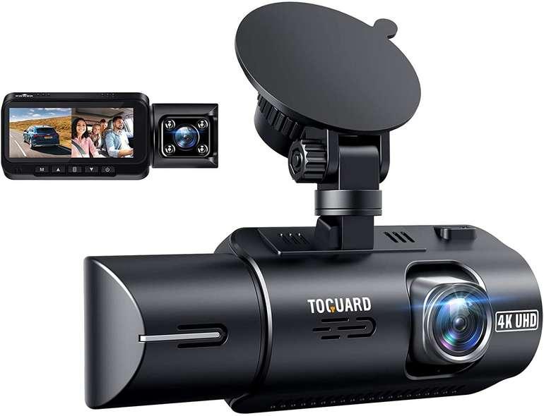 Toguard Dashcam 4K GPS (Dual Lens, Infrarot-Cut Nachtsicht, bis 256GB) für 96,99€ inkl. Prime-Versand (statt 160€)