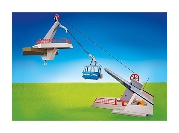 Playmobil Seilbahn mit Bergstation (9830) 23,94€ inkl. Versand (statt 60€)