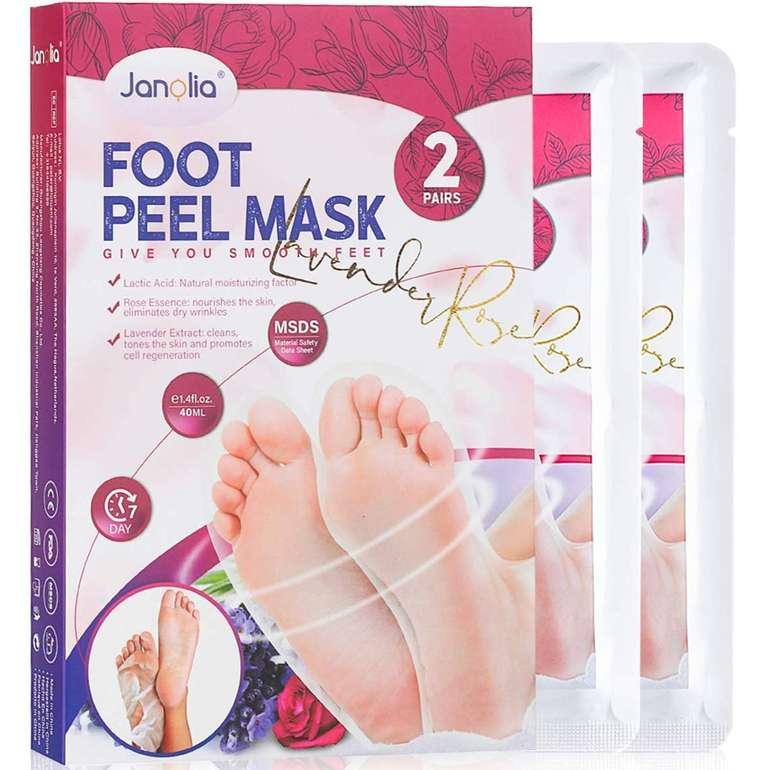 Janolia 2er Pack Fußmasken zur Hornhautfernung für 4,78€ inkl Prime Versand (statt 8€)