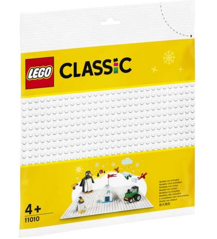 Lego Classic Weiße Bauplatte (11010) für 5,27€ inkl. Versand (statt 11€) - Thalia Club!