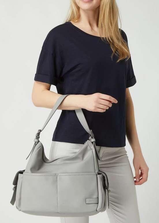Esprit Hobo Bag in Leder-Optik in Grau für 24,99€inkl. Versand (statt 30€)
