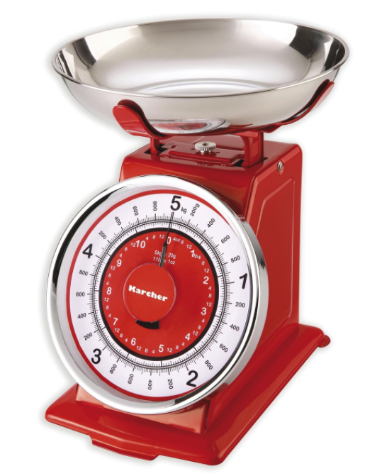Karcher WAK 812 Mechanische Küchenwaage für bis zu 5 kg zu 16,99€ inkl. Versand (statt 20€)