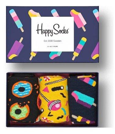 Happy Socks: 40% Rabatt + Versandkostenfrei (10€ MBW) - z.B. Gift Box für 17,97€
