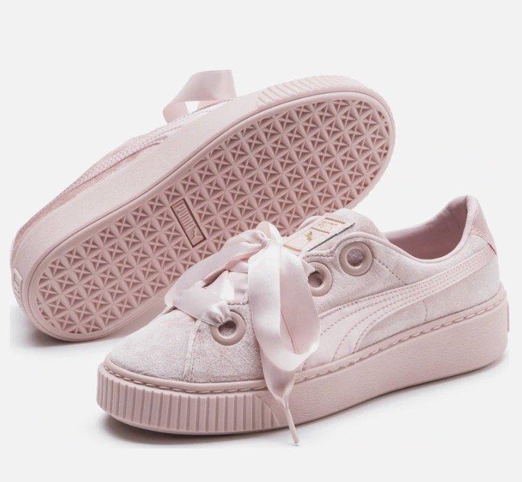Puma Platform Kiss Velvet Damen Sneaker für 21,25€ inkl. Versand