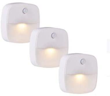 3er Pack Lebexy LED Nachtlichter mit Bewegungsmelder für 9,89€ inkl. Versand - Prime!