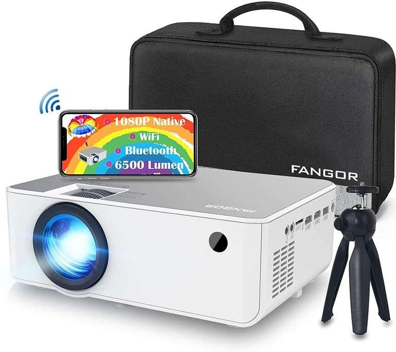 Fangor Mini WiFi Beamer (1080P, 6500 Lumen) für 83,99€ inkl. Versand (statt 153€)