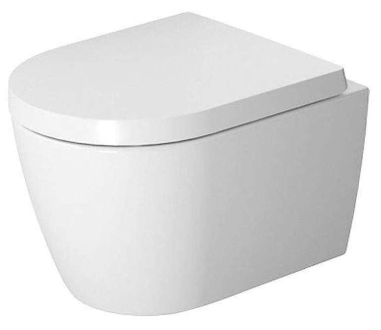Preisfehler? Duravit Me by Starck - Wand-Tiefspül-WC Set Compact mit Rimless ohne WonderGliss für 93,80€