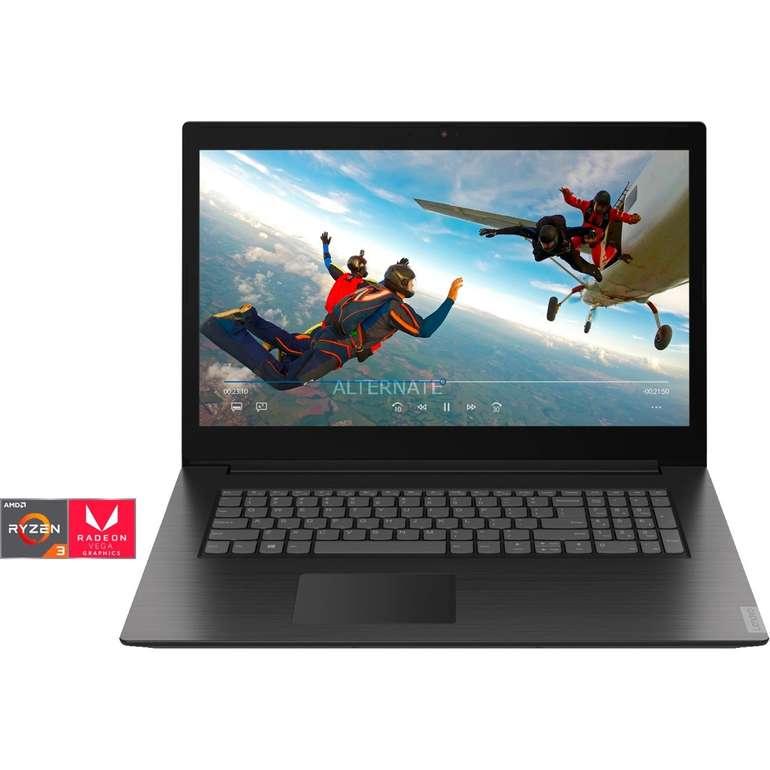 Lenovo IdeaPad L340-17API - 17 Zoll Full HD Notebook mit Ryzen 3 & 256GB für 335,99€ (statt 443€)
