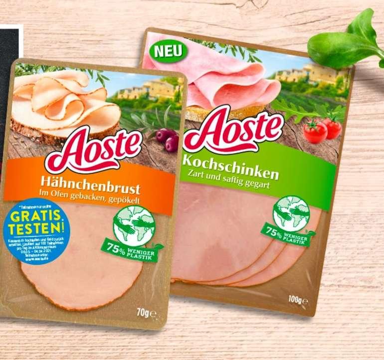 Aoste Wurstwaren (vers. Sorten verfügbar) gratis testen dank Geld-zurück-Garantie (GzG)