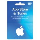iTunes Geschenkkarte mit 15€ Nennwert für 13,50€ inkl. Versand