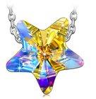 """Kami Idea Damenhalskette """"Lucky Star"""" aus 925 Sterlingsilber für 7,99€ (Prime)"""