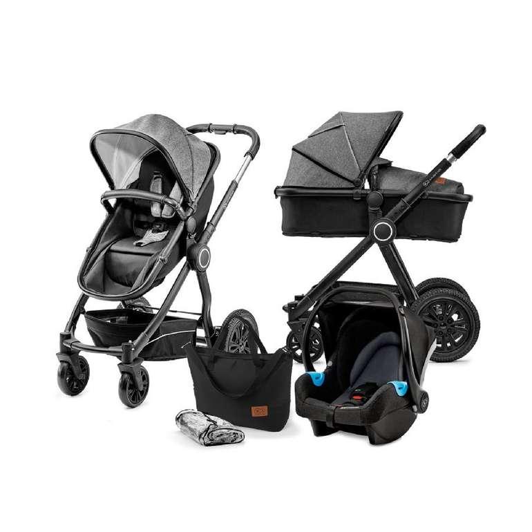 Kinderkraft Kombikinderwagen 3 in 1 Veo Black/Grey für 248,39€ inkl. Versand (statt 299€)
