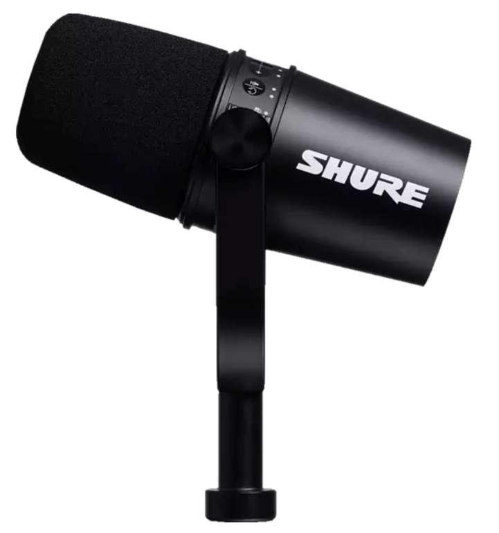 Shure MV7 Dynamisches Podcast Karaoke-Mikrofon in Schwarz für 209,99€inkl. Versand - Newsletter!