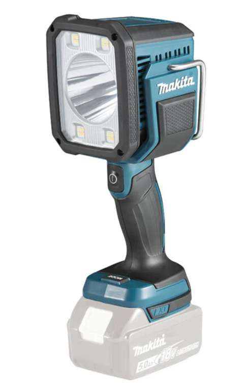 "Makita LED-Akku-Handstrahler ""DEADML812"" mit 18V für 105,62€ inkl. Versand (statt 123€)"