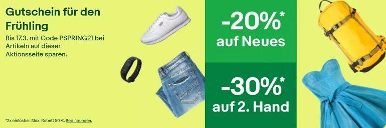 Ebay Fashion Rabatt