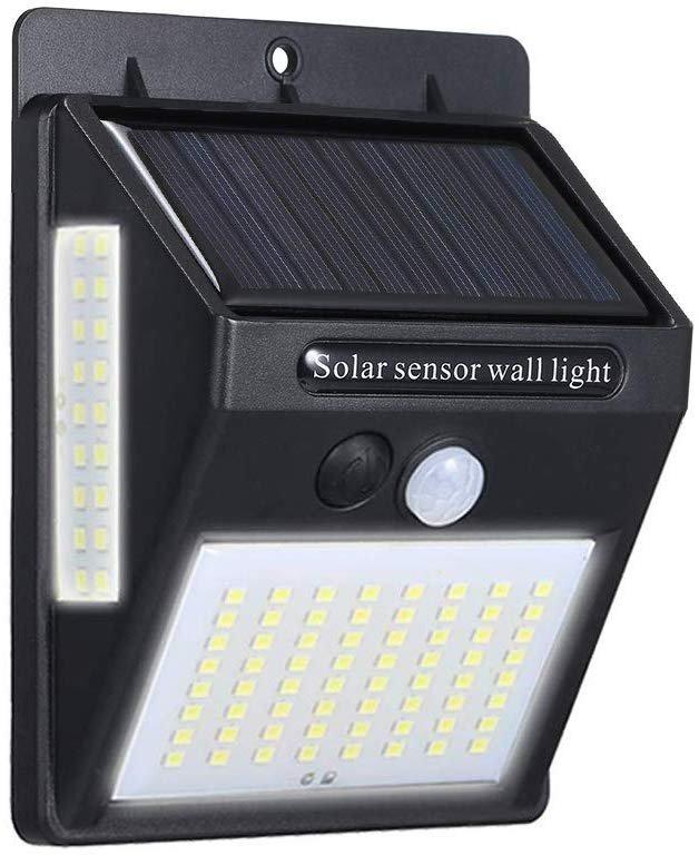 Ltteny LED Solar Wandleuchte mit Bewegungsmelder für 7,99€ inkl. VSK (statt 10€)