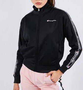 Champion Taped Poly Damen Jacke für 29,99€ (statt 42€)