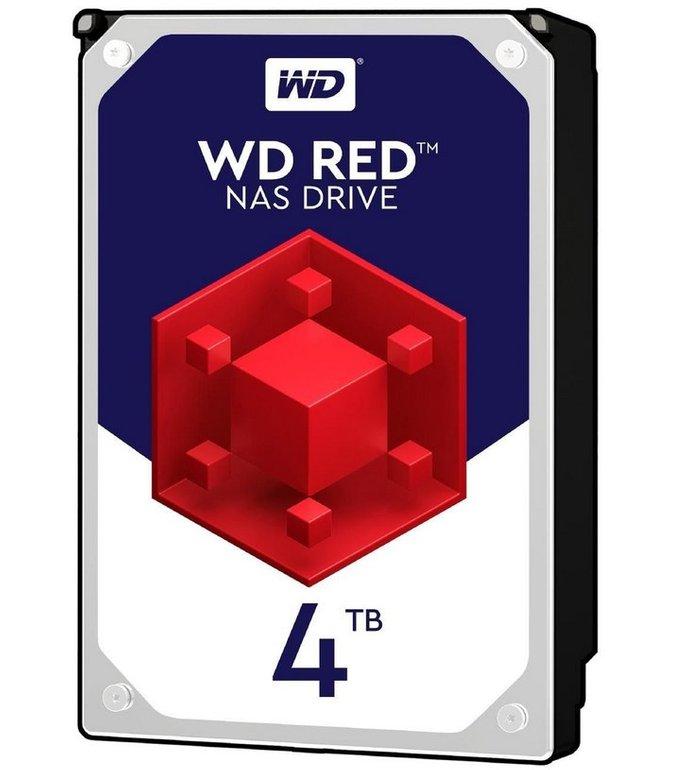 Interne Western Digital Red WD40EFRX 3,5-Zoll-Festplatte mit 4TB für 105,94€