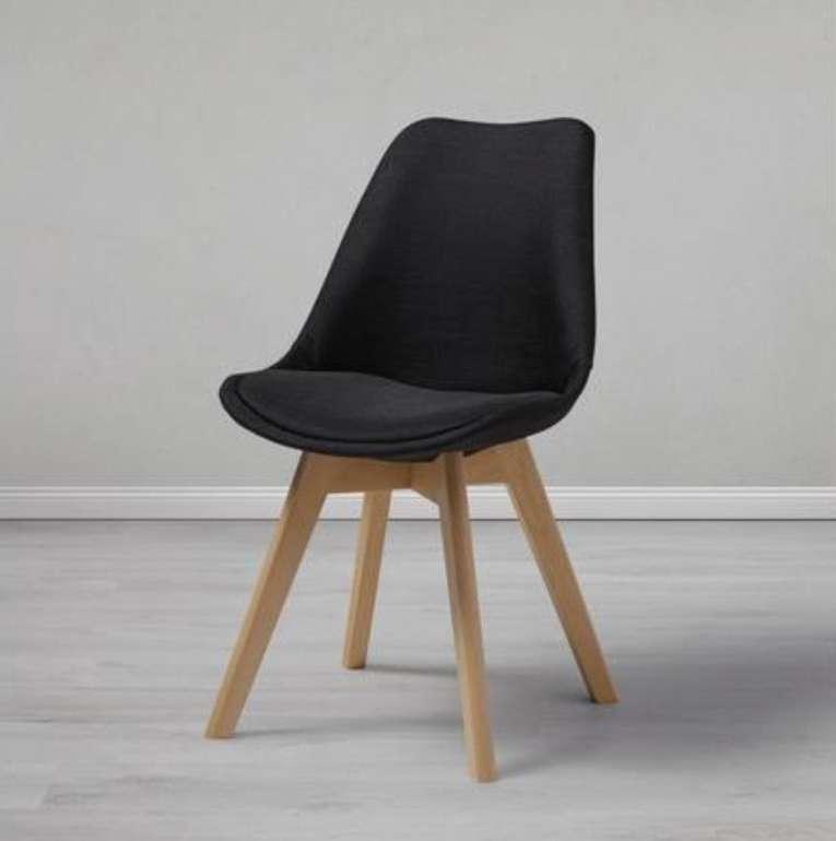 "Bessagi Home Stuhl ""Rocksi"" in schwarz oder grau für je 36,13€ inkl. Versand (statt 65€)"