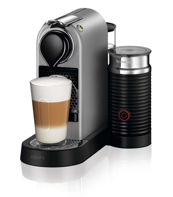 Krups XN 760B Nespresso New CitiZ&milk Kapselmaschine für 104,94€ inkl. Versand (statt 164€)