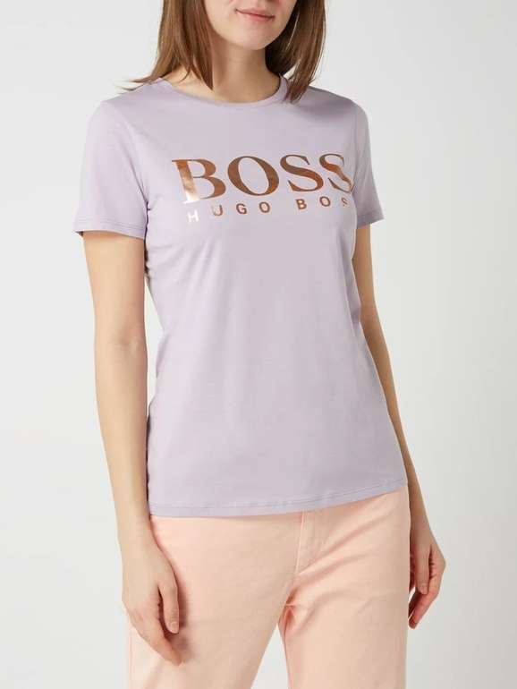 """Boss Damen T-Shirt """"Tecatch"""" in Flieder für 27,99€ inkl. Versand (statt 40€)"""