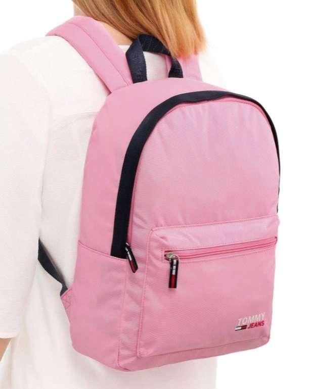 Tommy Jeans Campus Med Dome Rucksack in Pink für 38,99€ (statt 49€)