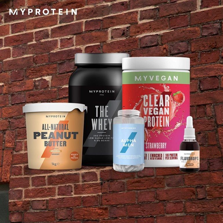50% Rabatt auf viele Produkte bei MyProtein + 37% auf Bestseller, z.B. 1 KG Coffee Boost Whey für 20,46€