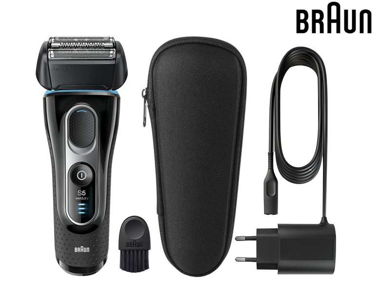 Braun 5145s Series 5 Wet&Dry Rasierer für 85,90€ inkl. Versand (statt 119€)