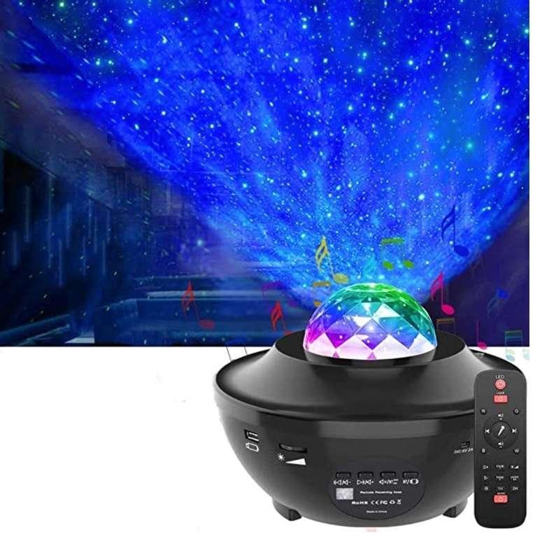 OxyLED LED Sternenlicht Projektor mit Fernbedienung & Bluetooth für 17,85€ inkl. Versand (statt 51€)