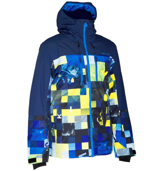 "Quiksilver Herren Skijacke ""Yebow"" in blau für 53,90€ inkl. Versand (statt 100€)"