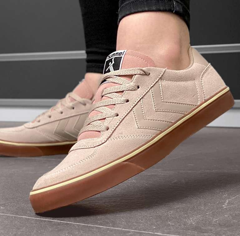 hummel Stadil 3.0 Sude Damen Sneaker aus Velours in 4 Farben für 26,94€inkl. Versand (statt 60€)