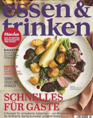 """3 Ausgaben """"Essen & Trinken"""" für 14,70€ + 14,70€ Verrechnungsscheck"""