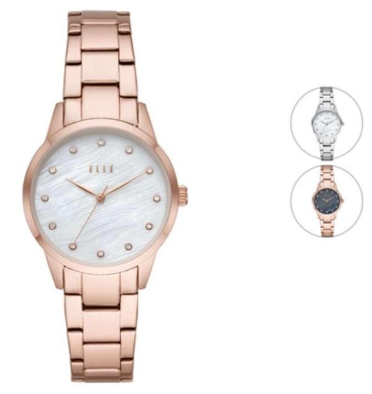 Elle Damen Armbanduhr (3 verschiedene Farbvarianten) für je 15,90€ inkl. Versand (statt 60€)
