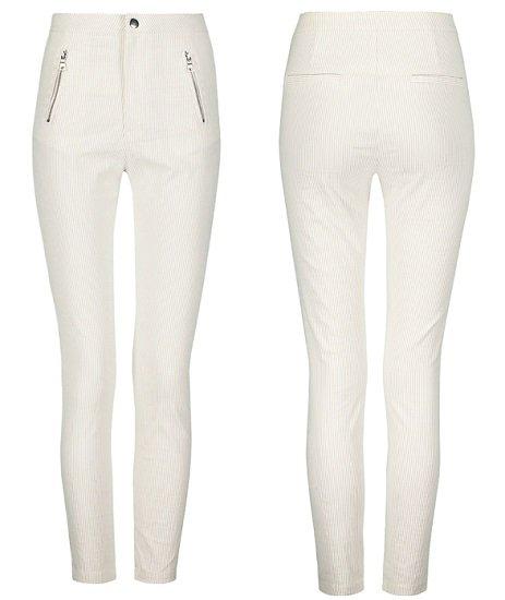 Tally-Weijl Beige Skinny Hose mit feinen Streifen für 9,99€ (statt 17€)