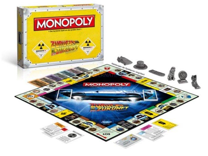 Monopoly - Zurück in die Zukunft (Standard Edition) für 16,48€ (statt 27€)
