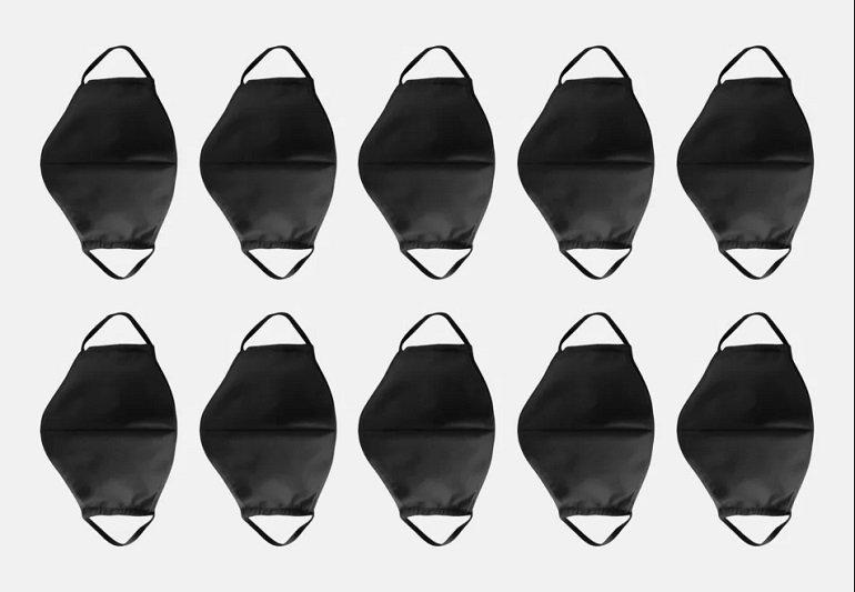 10er Pack Seidensticker Mund-Nasen-Masken 2