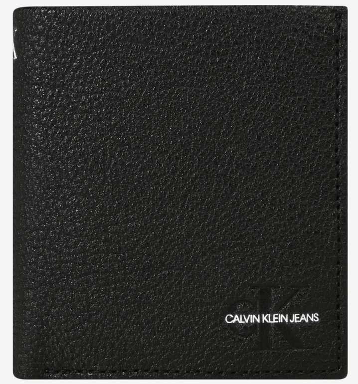 Calvin Klein Jeans Trifold Geldbörse in schwarz für 27,90€inkl. Versand (statt 47€)