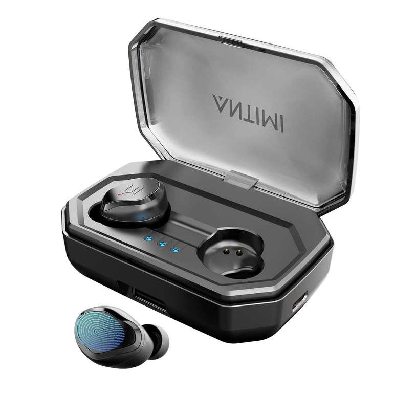 Antimi Bluetooth In-Ear Kopfhörer mit Ladecase für 30,97€ inkl. VSK (statt 46€)