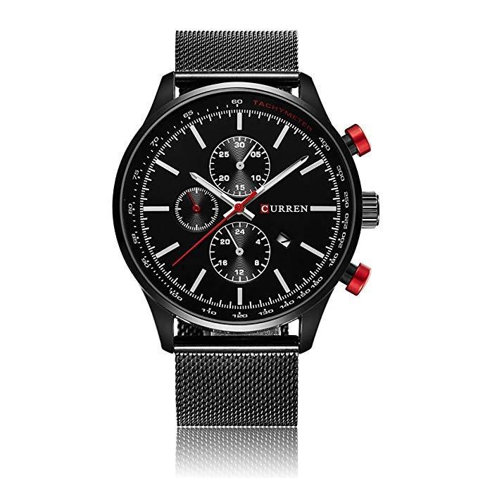 CURREN Herren Quarz Armbanduhr für 9,99€ inkl. VSK (Prime)