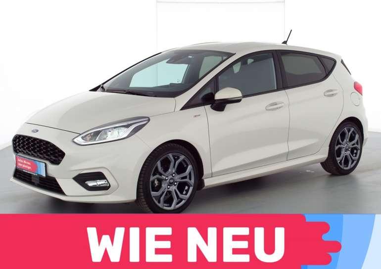 Privat- und Gewerbeleasing: Ford Fiesta mit 95 PS (gebraucht) für 99€ mtl. (LF: 0.43, Überführung 999€)