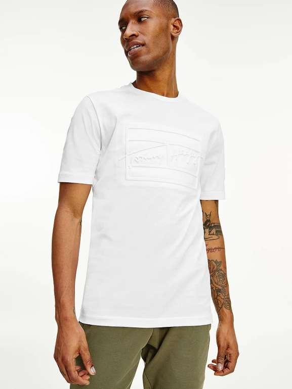 Tommy Hilfiger Signature T-Shirt aus Biobaumwolle für 34€ inkl. Versand (statt 42€)