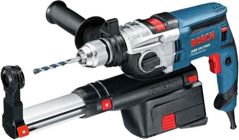 Bosch Schlagbohrmaschine GSB 19-2 REA (900 Watt, Nennaufnahmeleistung, Staubabsaugung) für 173,77€