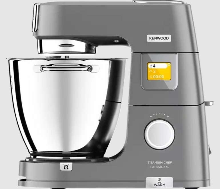 Kenwood KWL90.124SI Titanium Chef Patissier XL Küchenmaschine (7 Liter, 1400 Watt) für 799€inkl. Versand